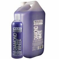 WAHL Diamond White Horse SHAMPOO Body Wash for Stained Grey Coloured 500ml / 5l