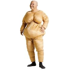 Fat Suit Costume Adult Funny Fatsuit Halloween Fancy Dress