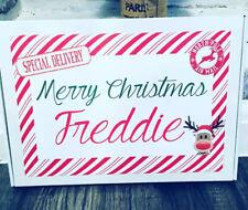 PERSONALISED CHRISTMAS CHOCOLATE SELECTION BOXES 20 FULL SIZE BARS CADBURYS/MARS