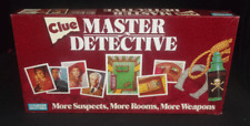 Parker Brothers Clue Master Detective Classic Murder Mystery Board Game Complete