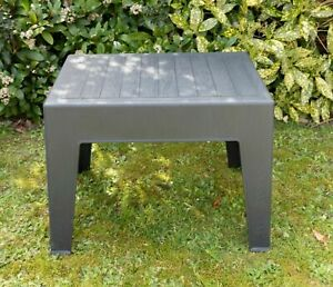Garden Coffee Table Sun Lounger Deck Bistro Chair Outdoor Plastic Side Table