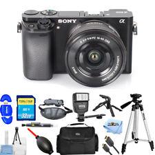 Sony Alpha a6000 Mirrorless Digital Camera W/ 16-50mm!! PRO KIT Brand New