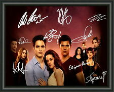 TWILIGHT - CAST - A4 SIGNED PHOTO POSTER -  FREE POST