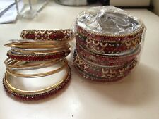 Indian Jeweled Bracelets Bangles