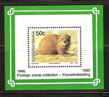Bophuthatswana #243-a S.S. Mnh Wild African Animal