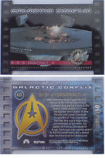 Star Trek Galactic Conflix GC3 Black Border chase card # 085 of 750