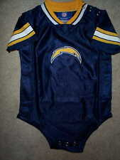 REEBOK San Diego Chargers nfl BABY INFANT NEWBORN CREEPER Jersey 18M 18 Months
