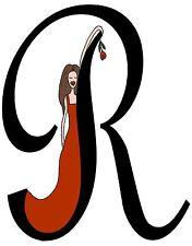 "personalized letter "" R "" cards & envelopes  DIVA"