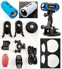 iON Air Pro Zubehör-Package Set - Saugnapfbefestigung, Skins, Rad-, Fahrradhelmb