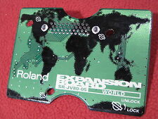Free Shipping! Roland SR-JV80-05 World Expansion Board (jv xv xp ) Used