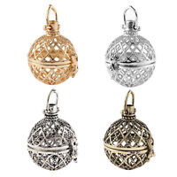 1pcs DIY Cages Hollow Ball Alloy Charms Beads Pendants Necklace Jewelry Making