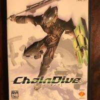 Sony PlayStation 2 PS2 video game Chain Dive from Japan F/S used