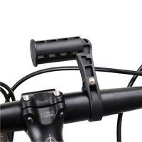 Estensione bike manubrio bici bicicletta supporto porta luci tachimetro staffa