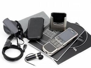 Nokia 8800 Carbon Arte Sim Free Unlocked 3G GSM Mobile Phone Made in Korea Boxed