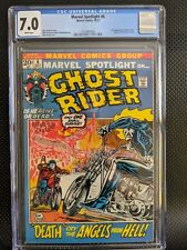 Marvel Spotlight #6 CGC 7.0 WP 2nd Appearance of Ghost Rider!!
