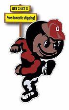 Ohio State Brutus Mascot Buckeyes Decal/Sticker 3.25x5 Waterproof p184