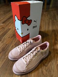Puma x Hello Kitty Utility Women's Sneakers Pink Gold, Size 11, NEW IN BOX