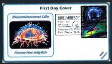Bioluminescent Life - SC# 5264 - 5273, 2018 FDCs