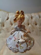 """Josef Originals """"Baby Shower"""" figurine from the 'Party Cake Toppers' series"""