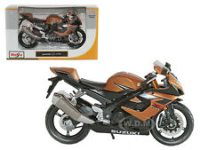 SUZUKI GSX R1000 BRONZE BIKE 1/12 MOTORCYCLE BY MAISTO 31106