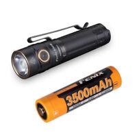 Fenix E30R 1600 Lumen USB Rechargeable EDC Flashlight with Fenix 18650 Battery