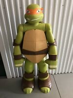 Life Size 4 Ft Teenage Mutant Ninja Turtles TMNT Michelangelo Action Figure Toy