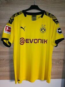 BVB 09 Borussia Dortmund Heim-Trikot 2019/2020 Brandt AUTHENTIC Gr. XL neuwertig