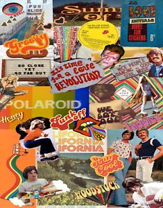 1969 A&BC LOVE INITIALS Bubble Gum Stickers 6D Gum Card Wax Wrapper - Good
