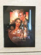 Dossier De Presse Original Star Wars L'Attaque Des Clones