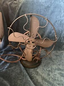 Antique MARELLI fans sold seperate or as a pair.