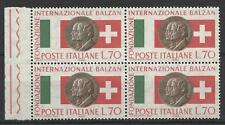 ITALY 1962 BALZAN FOUNDATION 70L BLOCK MINT
