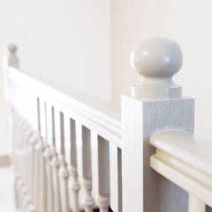 Kugelaufsatz - Holz gedrechselt - Pfosten, Treppe, Dekoration - Made in Sweden