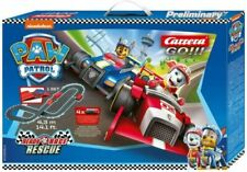 Carrera GO 63514 Paw Patrol Ready Race Rescue Electric 1/43 Slot Cars Track Set