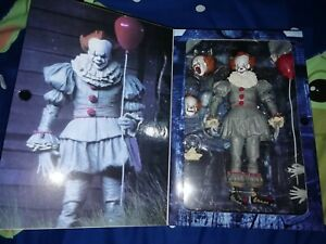 Neca IT 2017 Pennywise Ultimate Action Figure ( BOXED)