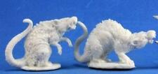 Reaper Miniatures Dark Heaven Bones Barrow Rats (2) RPR 77198