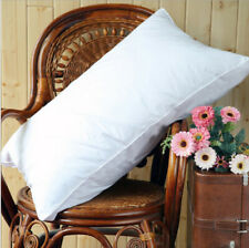King Size 100% Goose Down  Pillow ,2000TC White  Egyptian Cotton Outshell