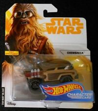 HOT WHEELS STAR WARS, FIRST APPEARANCE! -  CHEWBACCA CAR, NEW & SEALED
