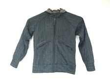 Salomon Black Micropuff Embroidered Numbers Winter Jacket Coat Men's Medium