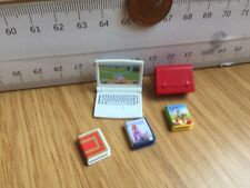 0619 Laptop + Books + Child Size Toy Backpack - Playmobil New Spares - School