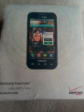 Samsung Galaxy S Fascinate SCH-I500 - Black Verizon Smartphone