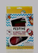 Decorate Your Own Christmas Stocking Craft Kit