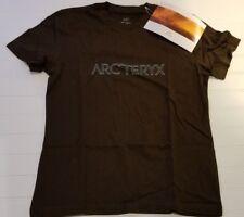 Brand New Women's Arcteryx Outline T-Shirt SIZE Medium  Carob (Black) Tags On!!