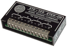 RDL STD-10K Passive 1:3 Splitter Combiner Divider Radio Design Labs Stick On