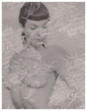 Bettie Page  *POSTER*  Sexy S&M Bikini Pin-Up Fetish & Bondage Pic betty Nude