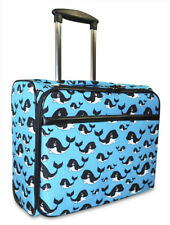 Whale Rolling Wheeled Laptop Case Bag Computer Trolley Carry On Womens Ladies