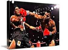 Mike tyson boxe Toile Mur Art Image Imprime A1 Grande Taille 32 X 22 encadrée nouveau