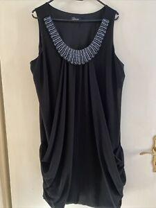 Festliches Kleid Dresses Yessica by C&A 46 Schwarz Perlen