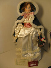 Vintage House of LLoyd Anne Marie Christmas Around the World Porcelain Doll 1997