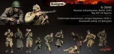 1:35 Infantería Rusa Guerra Mundial 2 (Segunda Guerra Mundial) 10 Figuras de Resina modelo kit