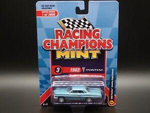 2021 RACING CHAMPIONS MINT 1962 PONTIAC CATALINA ROYAL BOBCAT REL1 LIMITED ED